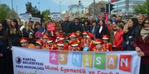 Kartallı Çocuklara Unutulmaz 23 Nisan Eğlencesi