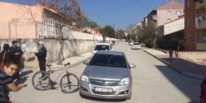 Otomobil İle Bisiklet Çarpıştı, 2 Yaralı