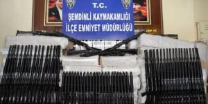 Hakkari'de 560 Adet Av Tüfeği Ele Geçirildi