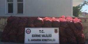 Edirne'de 80 Bin Tl'lik Kaçak Midye Ele Geçirildi