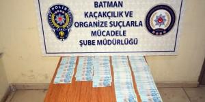 Batman'da 45 Bin 700 Tl Tutarında Sahte Para Ele Geçirildi