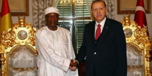Cumhurbaşkanı Erdoğan, Gine Cumhurbaşkanını Kabul Etti