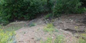 Torul'da Dolu Yağışı Tarım Arazilerine Zarar Verdi