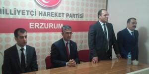 Mhp Erzurum'da Bayramlaşma Programı