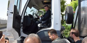 Viranşehir Belediyesi Öz Kaynaklarıyla Asfalt Distribütörü Aldı