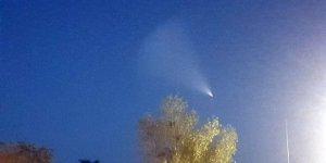 Kars'ta havada görülen parlak cisim Ağrı'da da görüntülendi