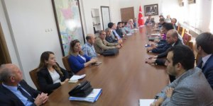 Çorum'da uyuşturucu ile mücadele koordinasyon kurulu toplandı