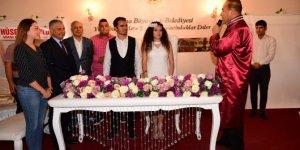 Başkan Sözlü, fotoğrafçısının nikahını kıydı