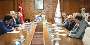 Toprak Koruma kurulu toplantısı yapıldı