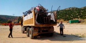Çöp toplayıcılarına zabıta operasyonu