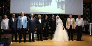 Milletvekili Şahin'in danışmanı dünya evine girdi