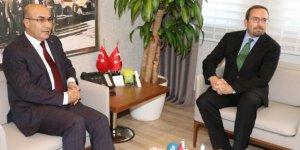 Büyükelçi Bass'tan Vali Demirtaş'a veda ziyareti