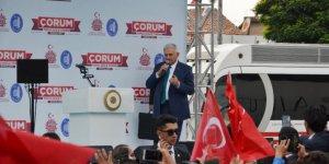 """Başbakan Yıldırım: """"Türkiye'ye düşmanlık edenler de 10 kere düşünsün"""""""