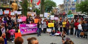 Kadınlardan minik Zeynep'in öldürülmesine tepki