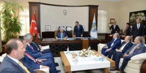 Başbakan Yıldırım'dan Çorum Belediye'sine ziyaret