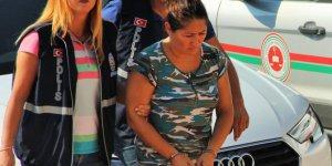 Temizlikçi gibi girdiği evlerde hırsızlık için keşif yapan kadın yakalandı