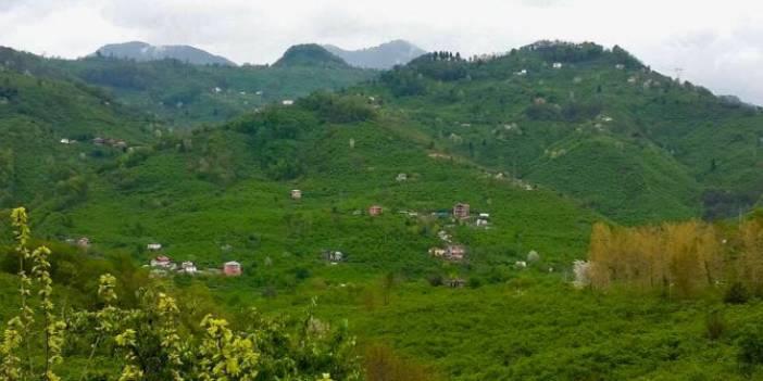 Giresun Çaykara Köyü