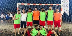Kmü Plaj Hentbol Turnuvasında Türkiye Dördüncüsü Oldu