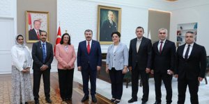 Bahreyn Sağlık Bakanı Ankara Şehir Hastanesi'ne Hayran Kaldı