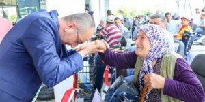 Meram'da Engellilere 160 Akülü Araç Dağıtıldı