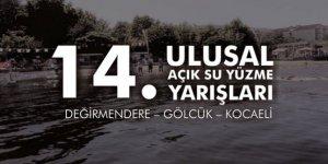 14. Ulusal Açık Su Yüzme Yarışları 18 Ağustos'da Düzenlenecek