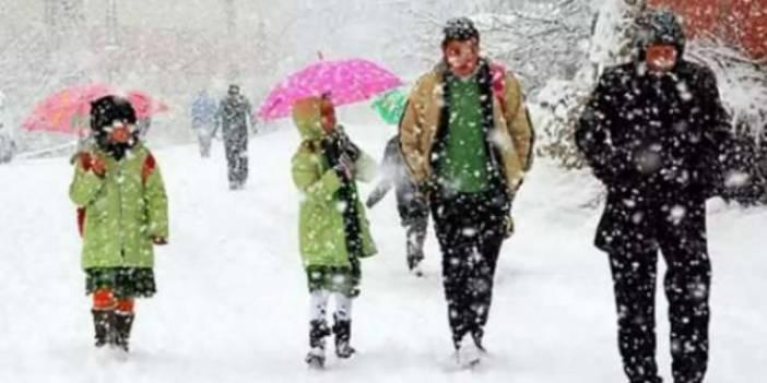 Erzincan 'da yarın okullar tatil mi, 10 Şubat 2020 Erzincan valiliği kar tatili açıklaması