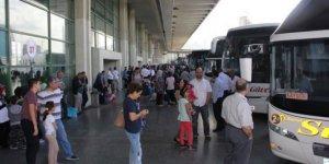 Şehirden şehire otobüs ziyaretleri sınırlandırıldı