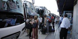 Otobüsle İstanbul dışına çıkışlar durduruluyor