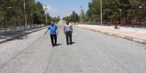 Samsat Belediyesinden Asfaltlama Çalışması