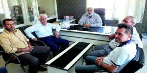 Toprak'tan Kooperatif Başkanı Pirçek'e Hayırlı Olsun Ziyareti