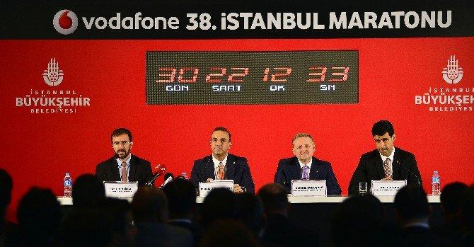 Vodafone 38. İstanbul Maratonu'nun Startı Verildi