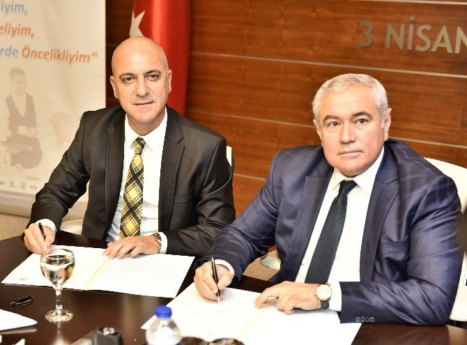 Atso Ve Antalya Osb'den Örnek Proje