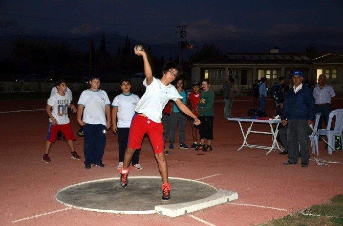 Aydın'da Amatör Spor Haftası Atletizm Yarışları Tamamlandı