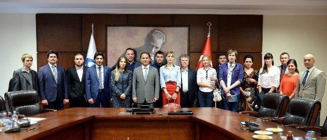 Rus Gazeteci Heyeti Türkiye'de