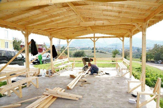Başiskele'de Park Ve Yeşil Alanlar Yenileniyor