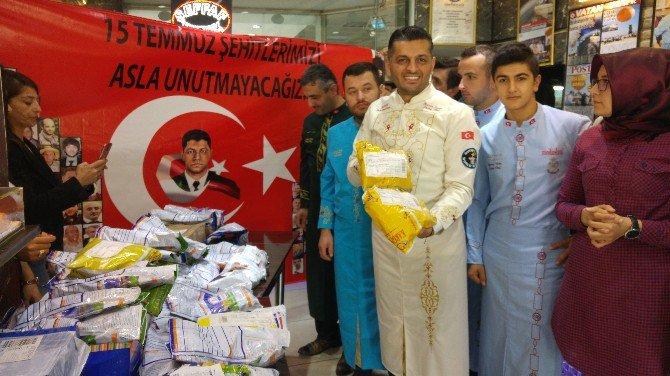 Cumhurbaşkanı Erdoğan'ın Dağıtacağı Aşurede 81 İlden Malzeme Var...