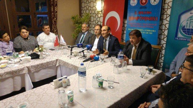 2. Balkan Güreş Şampiyonası Yeniden Yıldırım'da