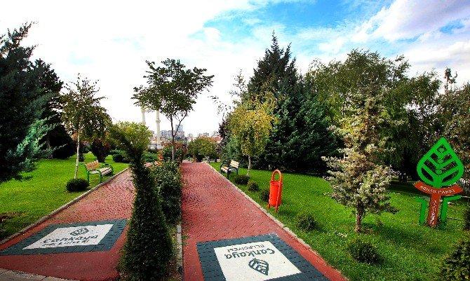 Çankaya'nın Parkları Yenileniyor