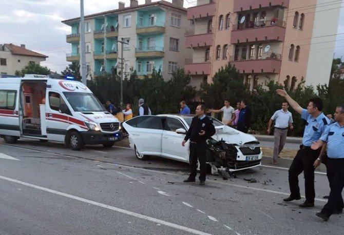 Sungurlu'da Trafik Kazası: 5 Yaralı