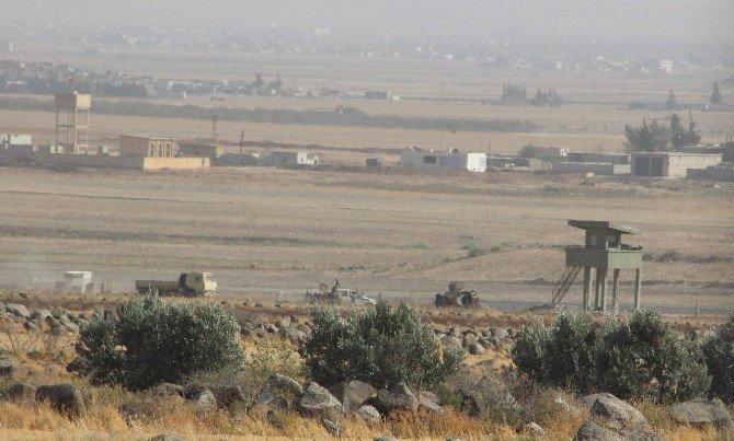 Sınırın Suriye Tarafında Büyük Hareketlilik