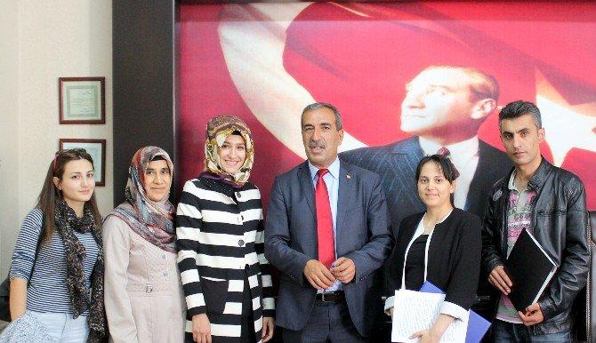 Şehitkamil İlçe Milli Eğitim Müdürlüğüne Bağlı Okullara Atanan Sözleşmeli Öğretmenler Göreve Başlıyor