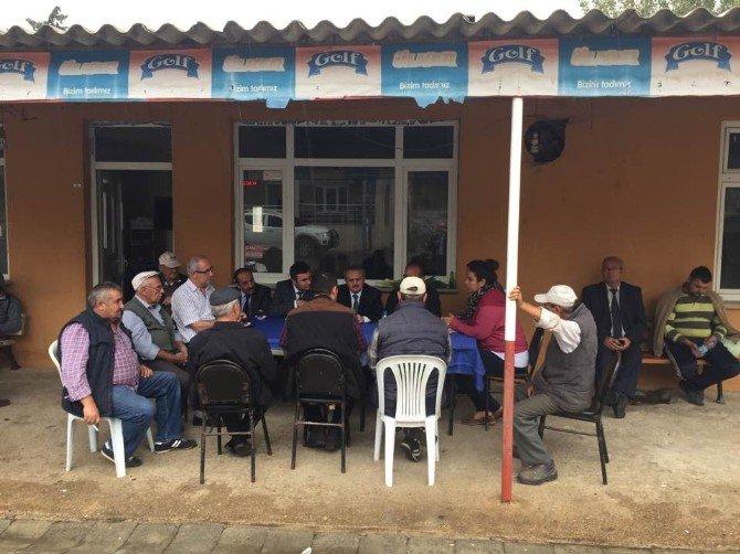 Çatak Projesi Çiftçi Toplantısı