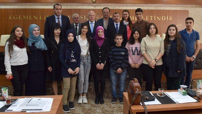 Kardeş Okullar Büyükşehir'de Buluştu