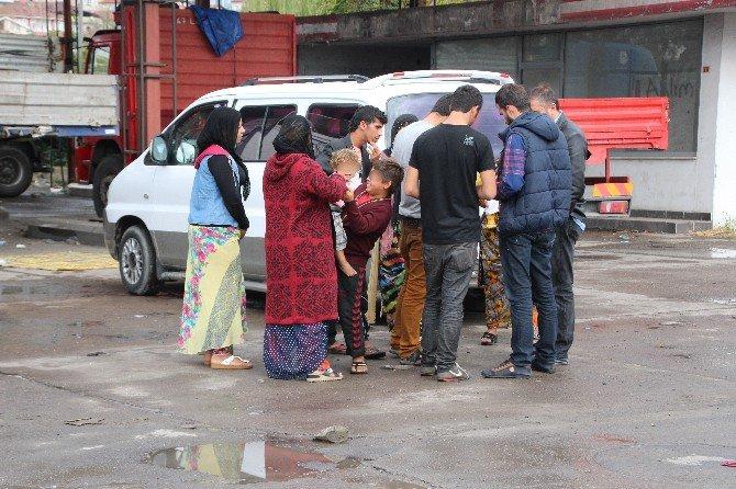 Çocuklarını Dilendiren Suriyeliler Gözaltına Alındı
