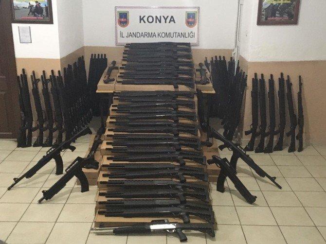 Jandarmadan Sahte Silah Satıcılarına Darbe
