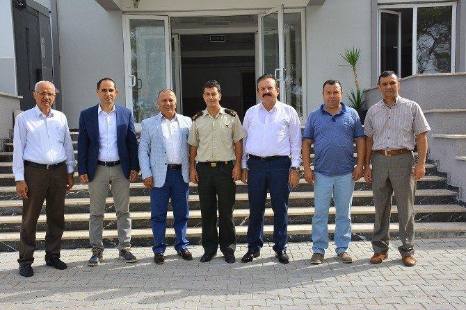 Matso Başkanı Boztaş, Jandarmayı Ziyaret Etti