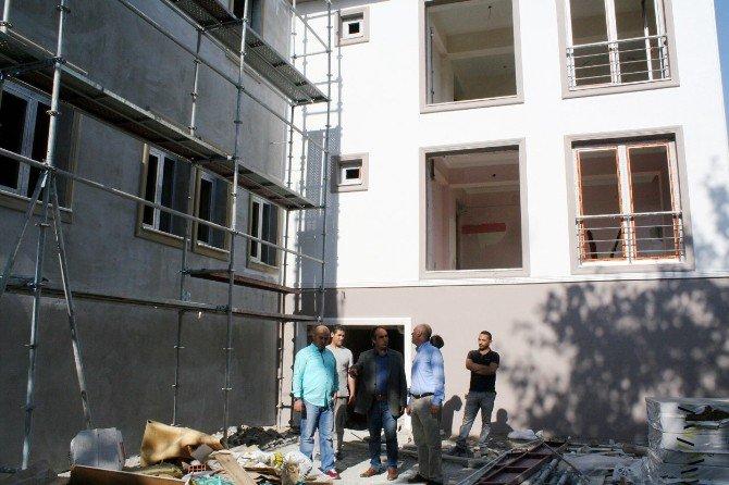 Mudanya Şaziye Rüştü Hastanesi Tepeden Tırnağa Yenileniyor