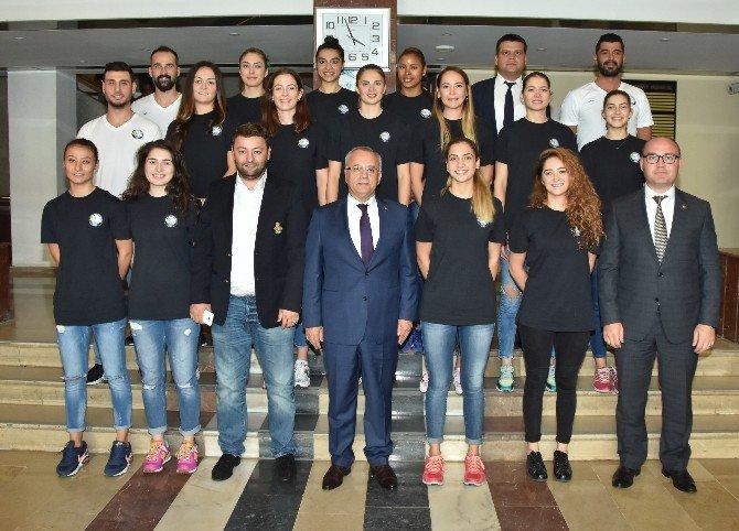 Salihli'nin Sultanları Başkan Kayda'ya Şampiyonluk Sözü Verdi