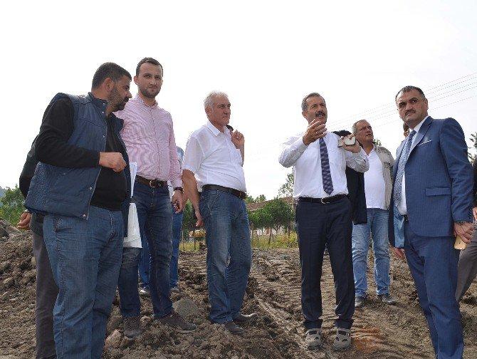 Salıpazarı'na 1 Yılda 20 Km Kanalizasyon Hattı Döşendi