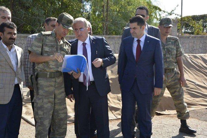 Vali Tuna'dan Karakuzu Jandarma Karakoluna Ziyaret